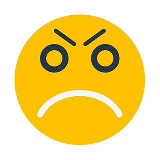 emoticon 2 worried face  emoticon maker