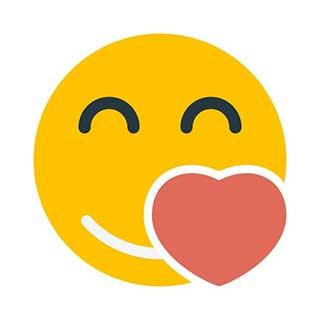 emoticon 21 love  emoticon template maker
