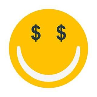 emoticon 22 money face  emoticon maker