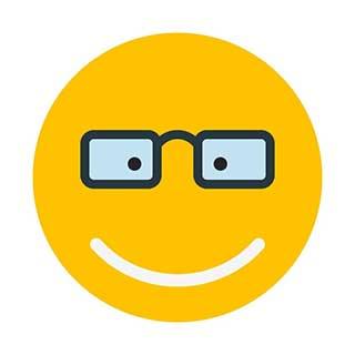 emoticon 25 eyeglasses  emoticon maker