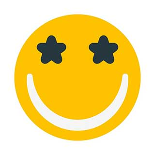 emoticon 31 starry eyed  emoticon maker