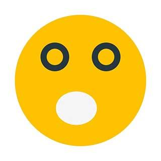 emoticon 32 open mouth  emoticon maker