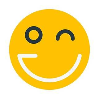 emoticon 34 winking eye  emoticon maker
