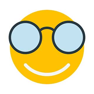 emoticon 6 glasses  emoticon maker online