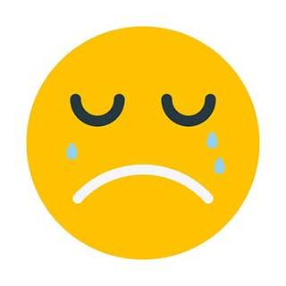 emoticon 9 crying  emoticon template maker