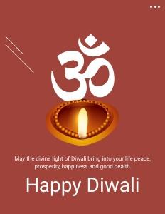 diwali flyer 5 poster advertisement