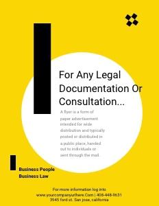 legalservices flyer 2 advertisement poster