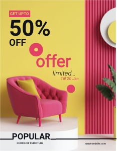 offer flyer 9 furniture  flyer