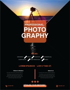 photography flyer 3 advertisement poster