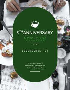 restaurant flyer 3 advertisement poster