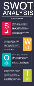 swot infographic 3 swot  infographic free
