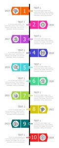 timeline infographic 4 timeline  infographic design