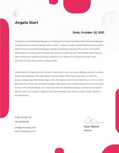 letterhead 19  letterhead format