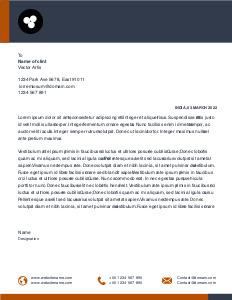 letterhead 2 company  letterhead template