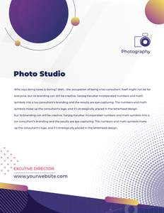 letterhead 21 free business  letterhead templates
