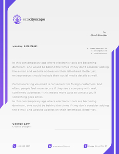 letterhead 23 make your own  letterhead