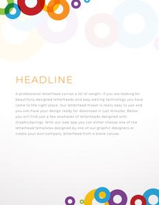 letterhead 24 create your own  letterhead