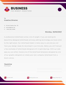 letterhead 26 printable  letterhead free