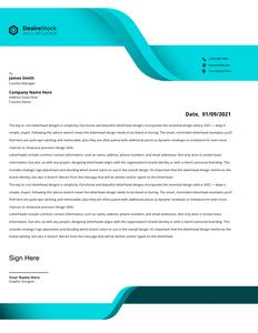 letterhead 33  letterhead design free download
