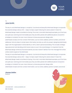letterhead 34 samples of  letterhead