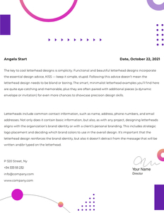 letterhead 38 free  letterhead generator