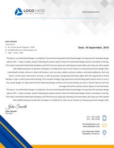 letterhead 40 free printable  letterhead