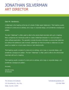 letterhead 7 making  letterhead online