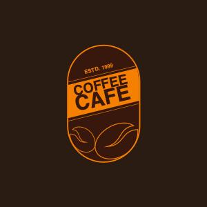 cafe logo 4 label text