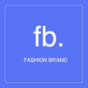fashion logo 1 text businesscard