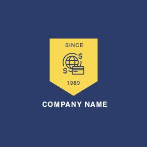 finance logo 3 label text