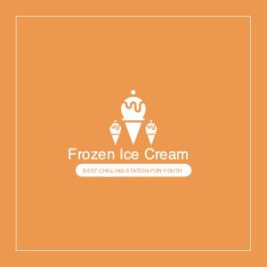 food logo 1 label text