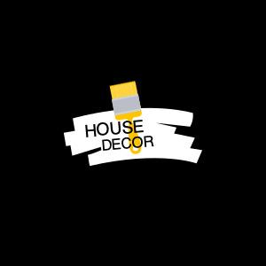 homedecor logo 9 label text