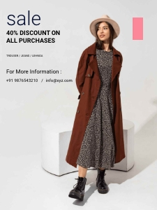 advertising_ poster 2 clothing overcoat