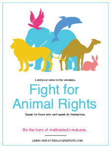 animalrights_ poster 1 animal rights  posters maker