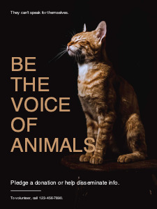 animalrights_ poster 4 animal welfare  poster maker free