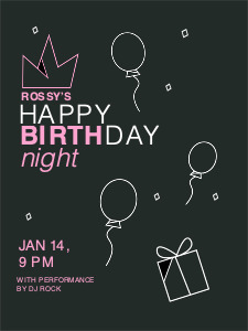 birthday poster 1 happy birthday  poster maker