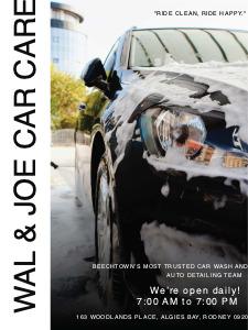 carclean poster 4 custom car clean  poster maker