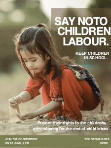 children poster 5 children  posters maker