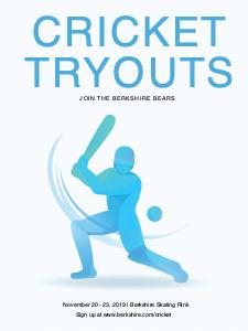 cricket poster 3 cricket  poster maker online