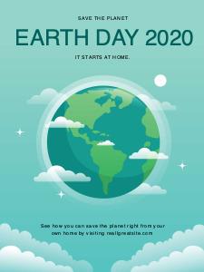earthday poster 1 earth day  poster maker