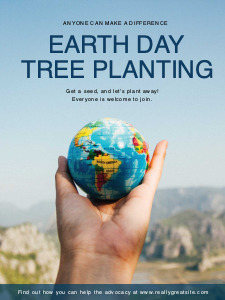 earthday poster 2 earth day  poster template maker