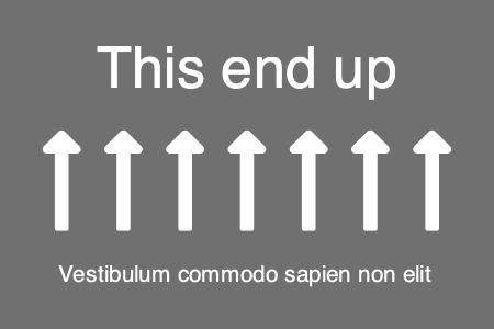 arrow productlabel 1 arrow product label