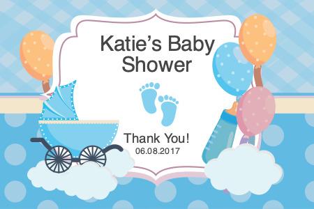 babyshower productlabel 2 personalized babyshower product label
