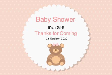babyshower productlabel 3 babyshower product label design