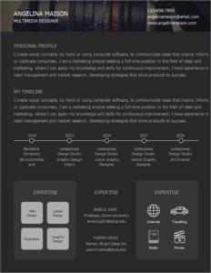 resume 14 multimedia designer  resume samples