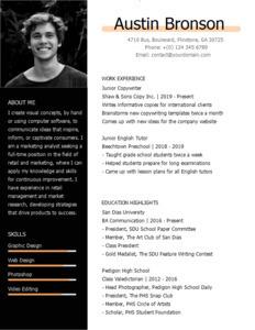 resume 22 creative copywriter  resume