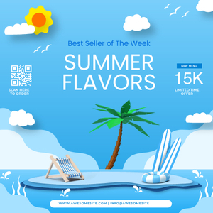 squarebanner 34 summer vacation square banner