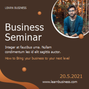 squarebanner 7 business seminar square banner